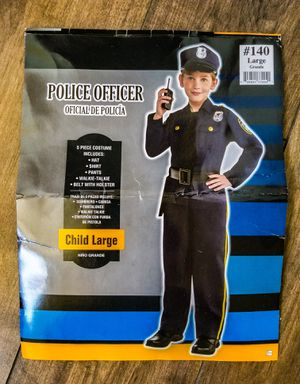 CHILD'S LARGE POLICE OFFICER COSTUME for Sale in Temecula, CA
