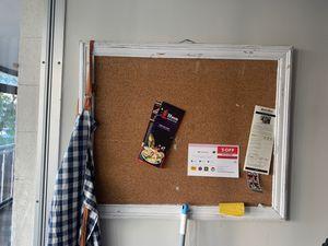Bulletin cork board for Sale in Denver, CO
