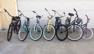 "(6) 26"" cruiser bikes $80 EACH for Sale in San Diego, CA"