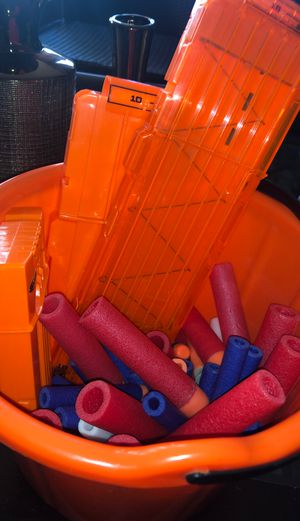 Bunch Of Nerf Bullets and Cartridges for Sale in Pomona, CA
