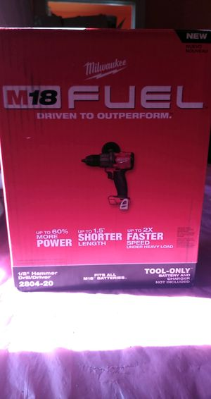 MILWAUKEE M18 FUEL HAMMER DRILL for Sale in HILLTOP MALL, CA