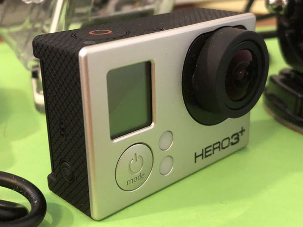 GoPro Hero 3+ with remote and case