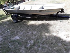 14 ft jon boat ith trilo for Sale in Centerville, GA