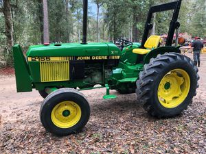 2155 johndeer diesel tractor with new brushhog mower, 55 hp for Sale in Hockley, TX