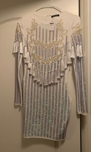 White sparkle evening dress for Sale in Las Vegas, NV