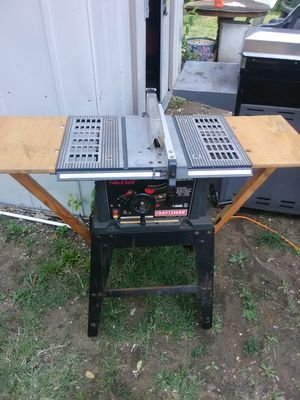 Craftsman table saw for Sale in Collinsville, IL