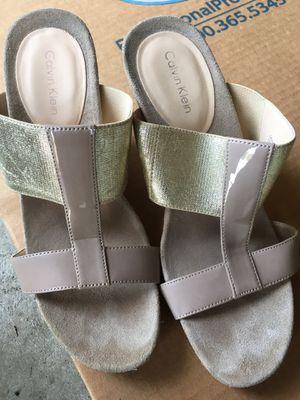 Calvin Klein high heels spring summer sandals for Sale in Redmond, WA