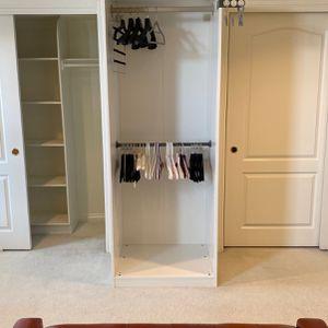 White Ikea Open Closet / Wardrobe for Sale in San Gabriel, CA