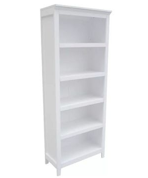 "NEW - IN-BOX - 72"" WHITE CARSON 5-SHELF BOOKCASE DISPLAY SHELVING UNIT for Sale in Huntington Beach, CA"
