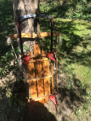 Lightning glider antique sled from Duncannon Sled Works for Sale in Dillsburg, PA