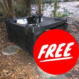 Big Storage Box Free 4' X 4' for Sale in St. Petersburg, FL