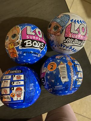 Brand new LOL globes for Sale in Las Vegas, NV