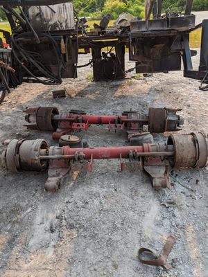 Trailer axle. Weber or Erie hub. Dating style, 10R 17.5 or 245R/ 17.5 wheels will fit. for Sale in Miramar, FL