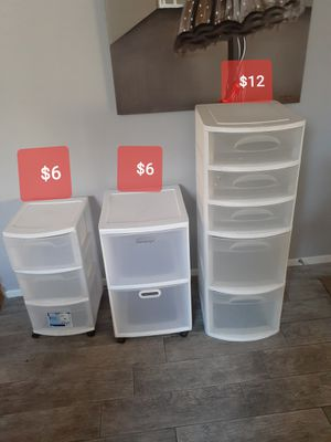 PLASTIC CONTAINERS $6-$12 EACH for Sale in Las Vegas, NV