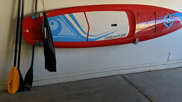 Ace-tec sup stand up paddle board and paddle