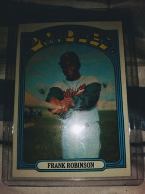 Frank Robinson 72 Topps!! for Sale in Post Falls, ID