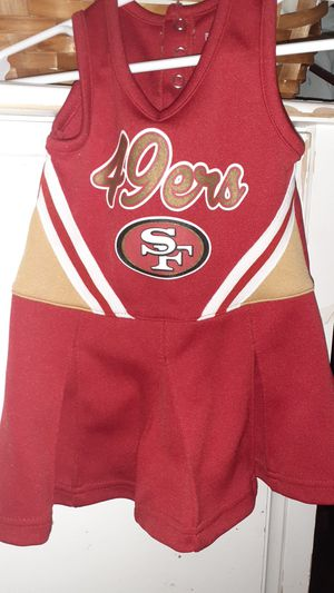 NFL- Toddler- Cheerleader Dress- SIZE:18M for Sale in Pittsburg, CA