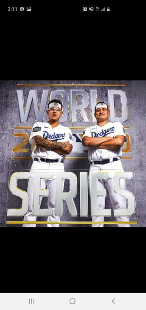 Two tickets for the 5th World Series game in Arlington Texas for Sale in Long Beach, CA