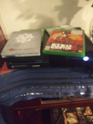 Xbox one with four games for Sale in Ocean Springs, MS