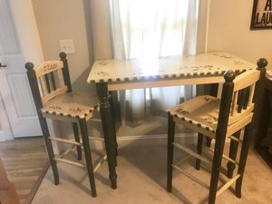 bar height table set for Sale in Dallas, GA