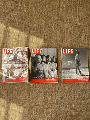 Vintage Life Magazines for Sale in Los Angeles, CA