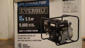 Gas-powered pump 9000 gallons per hour for Sale in Klamath Falls, OR