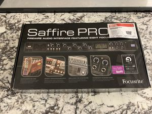 Focusrite saffire Pro 40 audio interface for Sale in Cocoa, FL