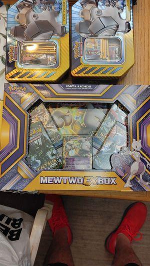 Pokemon mewtwo ex box for Sale in Gulfport, FL