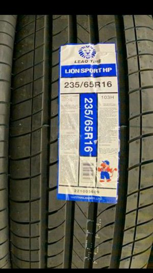 2356516 HT all new set of tires for Sale in Phoenix, AZ