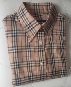 NWOT Men's Burberry Nova Check Shirt Sz. XL for Sale in New York, NY