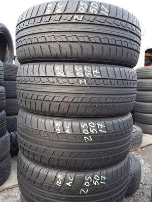 205/50-17 #4 tires for Sale in Alexandria, VA
