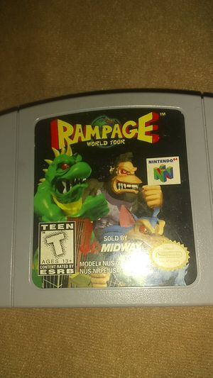 Rampage Nintendo 64 N64 game for Sale in Greenacres, FL