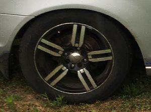 16 inch rims and tires, universal 4 lug for Sale in Columbus, OH