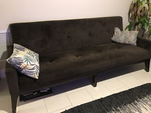 Brown Futon Sofa for Sale in Miami, FL