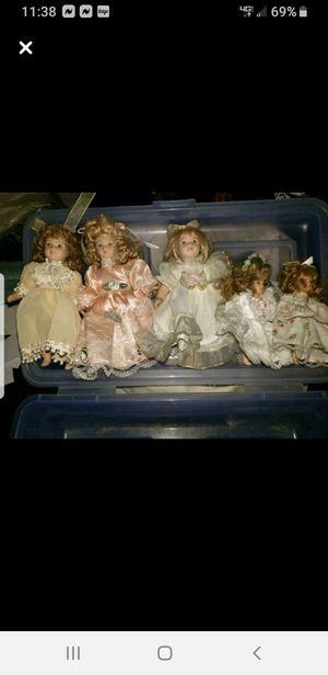 Antique porcelien dolls for Sale in San Fernando, CA
