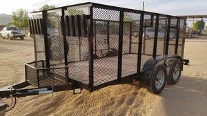 77x14x4 landscape utility trailer for Sale in Glendale, AZ