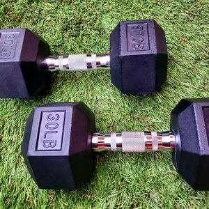 LBC - BRAND NEW. 30lb dumbbells. 30lb weights. 30 lb for Sale in Long Beach, CA