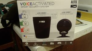 Altec Lansing Voice Activated Smart Security Sy stem for Sale in Davenport, IA