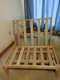 Wood Tri-fold Chair/ Lounger/Futon Frame for Sale in Columbus,  OH