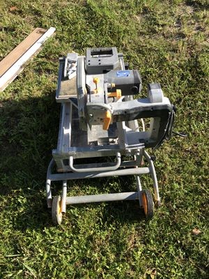 7 In. Heavy Duty Wet Tile Saw With Sliding Table for Sale in West Palm Beach, FL