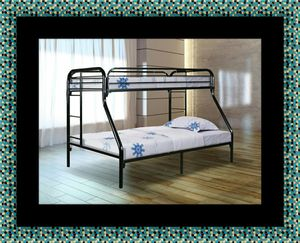 Full twin bunk bed frame for Sale in Chevy Chase, MD