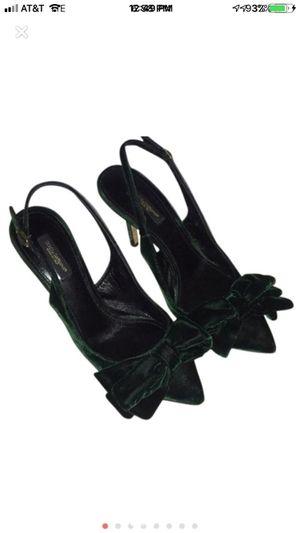 Dolce & Gabbana Green Velvet Heels for Sale in Los Angeles, CA