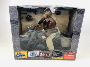 21st Century Toys Steve McQueen WW2 Figure for Sale in Mint Hill, NC
