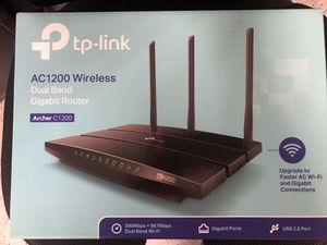 Mint Condition AC1200 Wireless Router for Sale in San Marcos, CA
