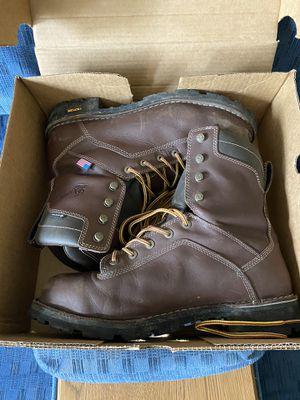Danner Quarry Work Boots- Dark Brown for Sale in Evesham Township, NJ