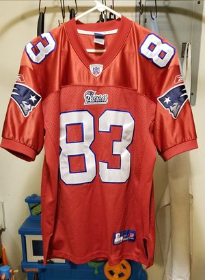 Vintage NFL New England Patriots Wes Welker#83 Stitched Reebok Jersey Size 50 Large for Sale in Littleton, CO