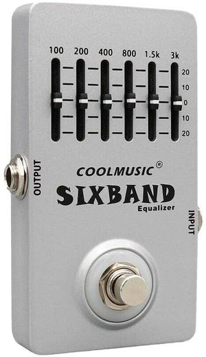 Coolmusic 6 band equalizer guitar pedal for Sale in Buffalo, NY