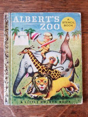 "A Little Golden Book #112 ""Albert's Zoo"" Stencils Used for Sale in Lexington, SC"