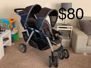 Chicco double stroller for Sale in Cookstown, NJ