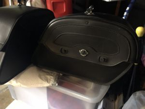 Viking Motorcycle Saddlebags with Locks/key NEW $125 for Sale in Temple City, CA